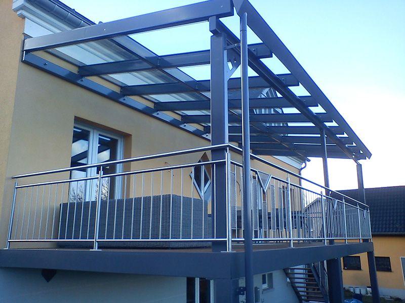 Terrasse métallique sur mesure Terrasse suspendue Pinterest - terrasse sur pilotis metal