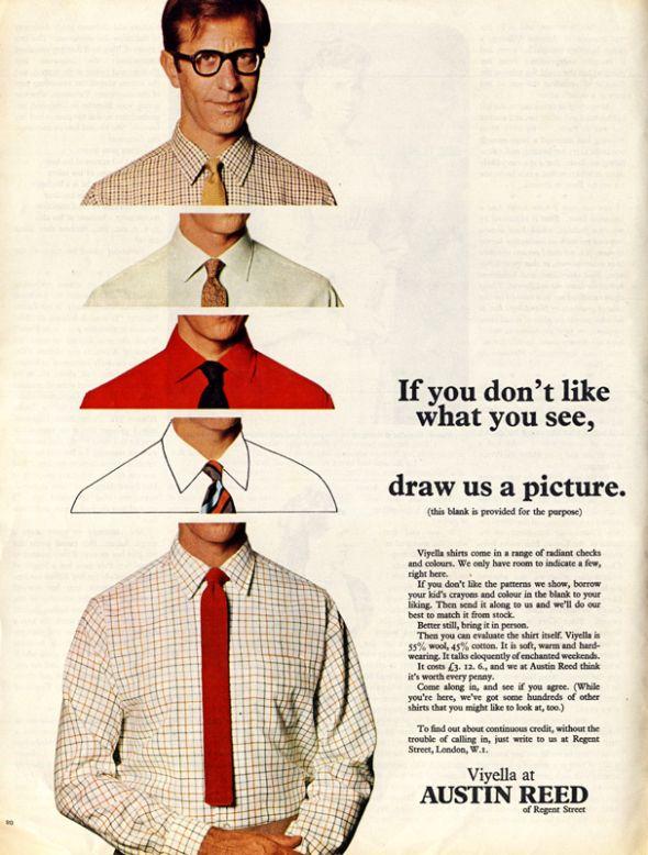 Posts About Vintage Adverts On Get Some Vintage A Peel Service Design Vintage Austin Reed