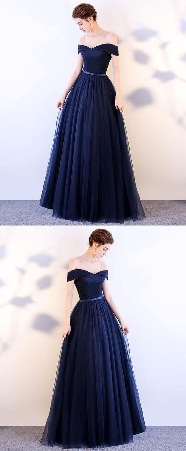 Dark blue prom dresses prom dresses blue prom dresses long