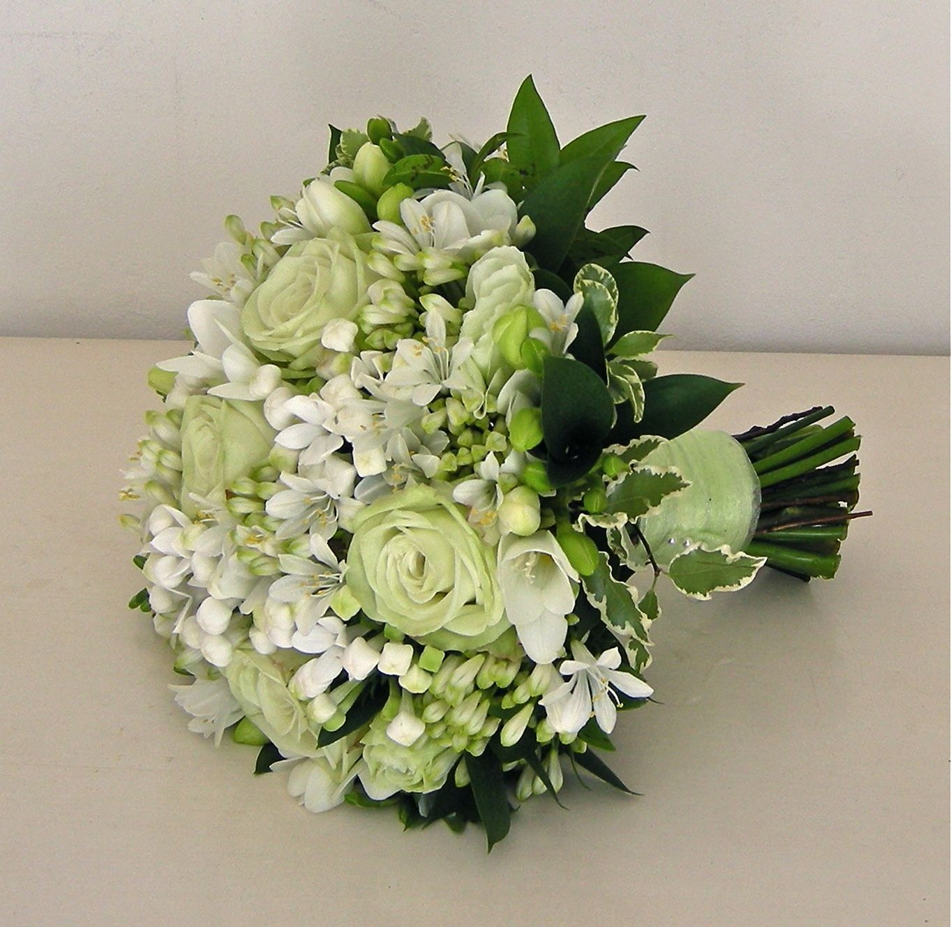 50 Most Beautiful White And Green Wedding Bouquet Flower