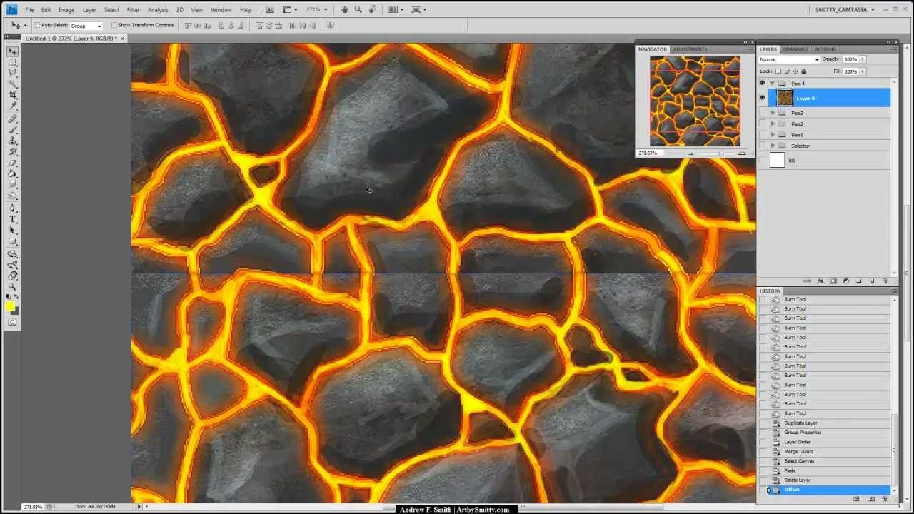 Texture hand painted lava video references pinterest lava texture hand painted lava baditri Images