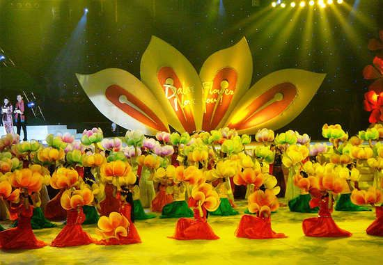 Dalat flower festival, Vietnam