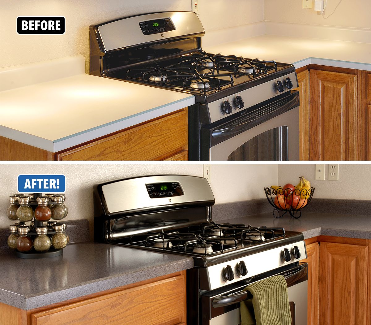 Kitchen Countertops Kinds: We Get All Kinds Of Calls From Customers With Damaged Countertops, Customers That Need To Update