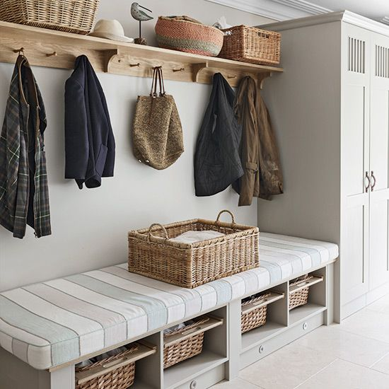 Sun Room Storage Ideas: 8 Country-style Boot Room Designs