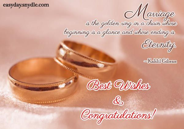 Greeting For Wedding Gift : Wedding Wishes, Messages, Wedding Quotes and Greetings Wedding ...