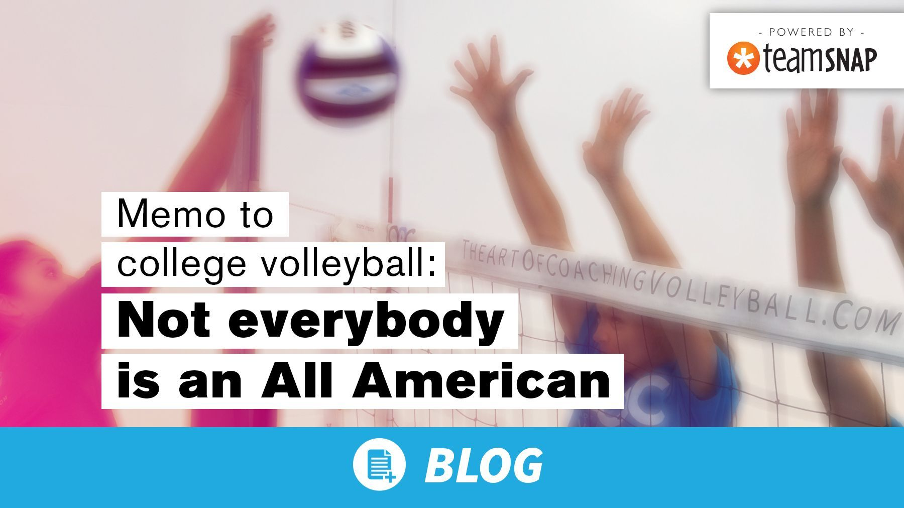 Memo To College Volleyball Not Everybody Is An All American The Art Of Coaching Volleyball Coaching Volleyball American Coaching