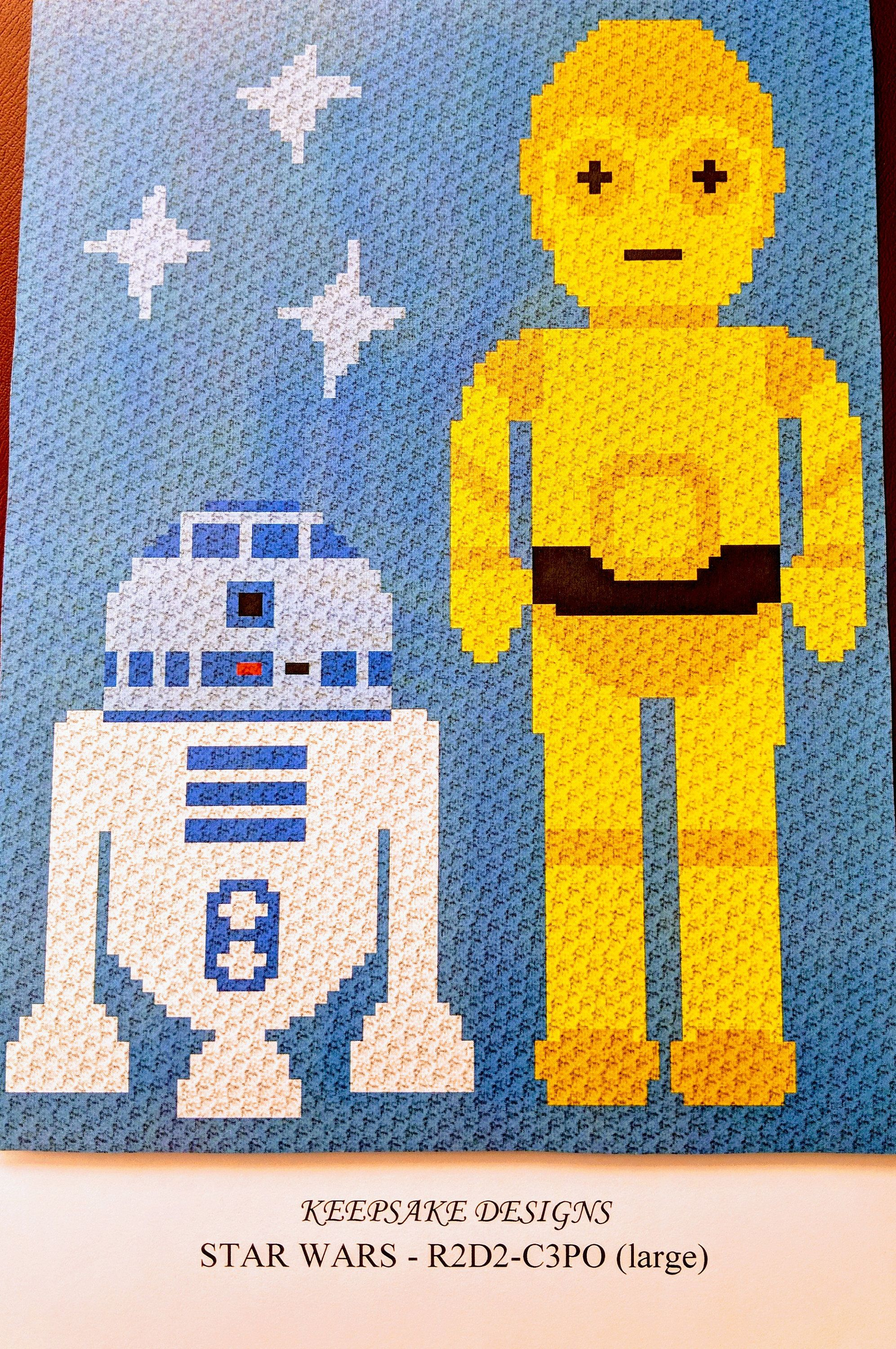 Unique R2d2 Häkelmuster Pattern - Decke Stricken Muster ...