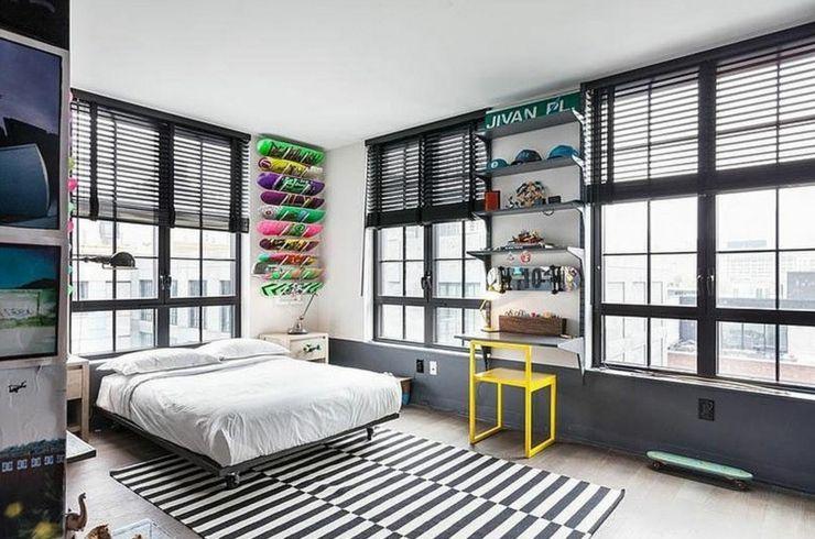 Bel appartement à Brooklyn au design éclectique   Apparence urbaine ...