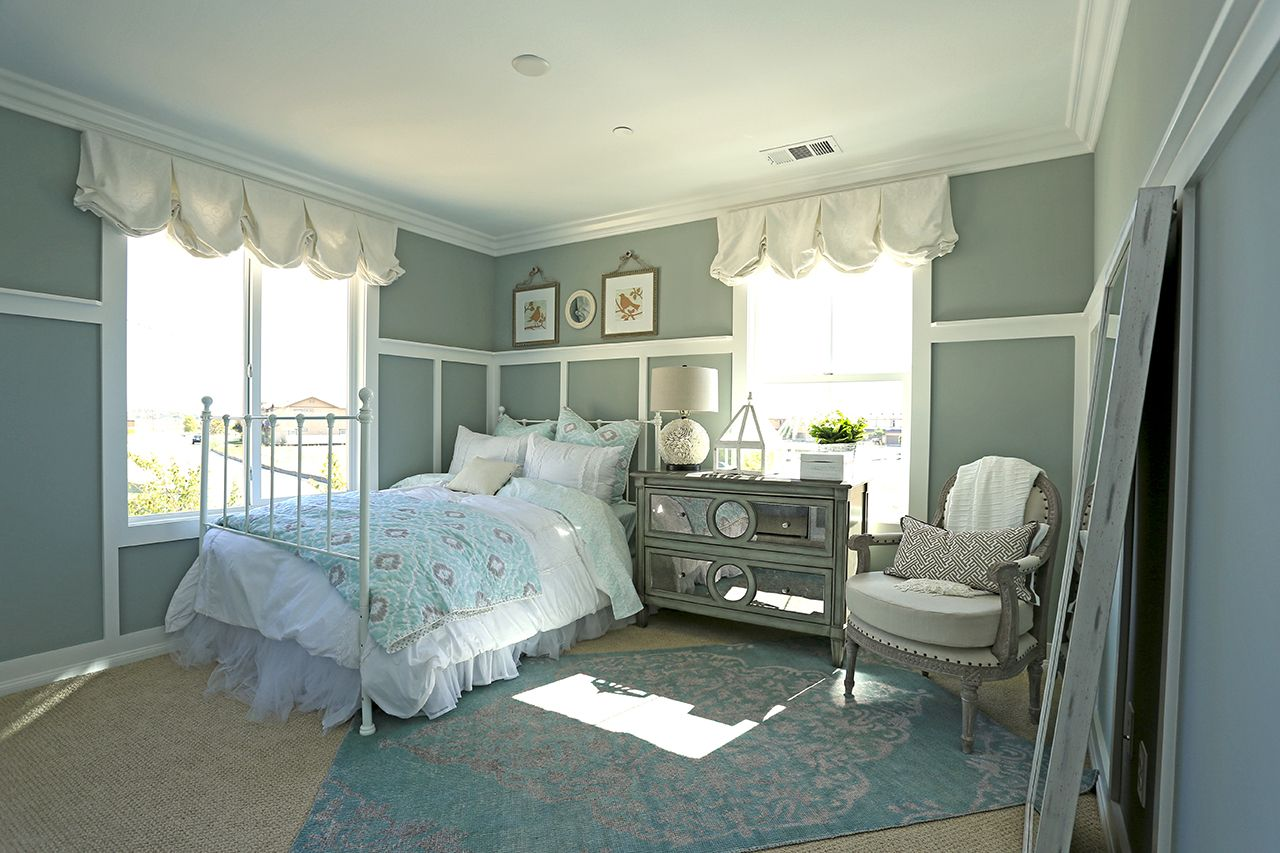 Another bedroom from the Design 3 model at the District at ... on New Model Bedroom Design  id=34899
