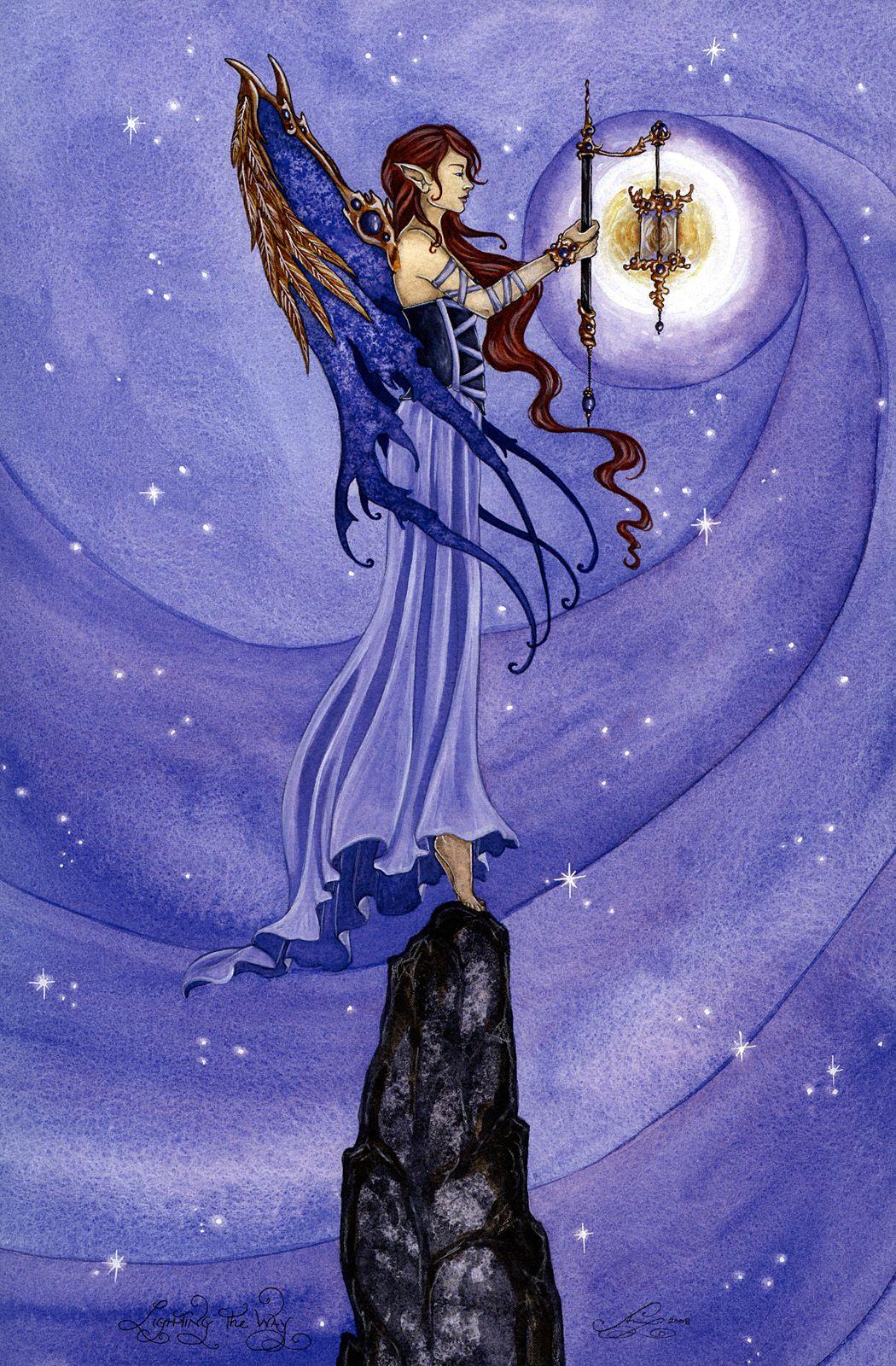 Fairy Art Amy Brown - Lighting Fairies In 2019