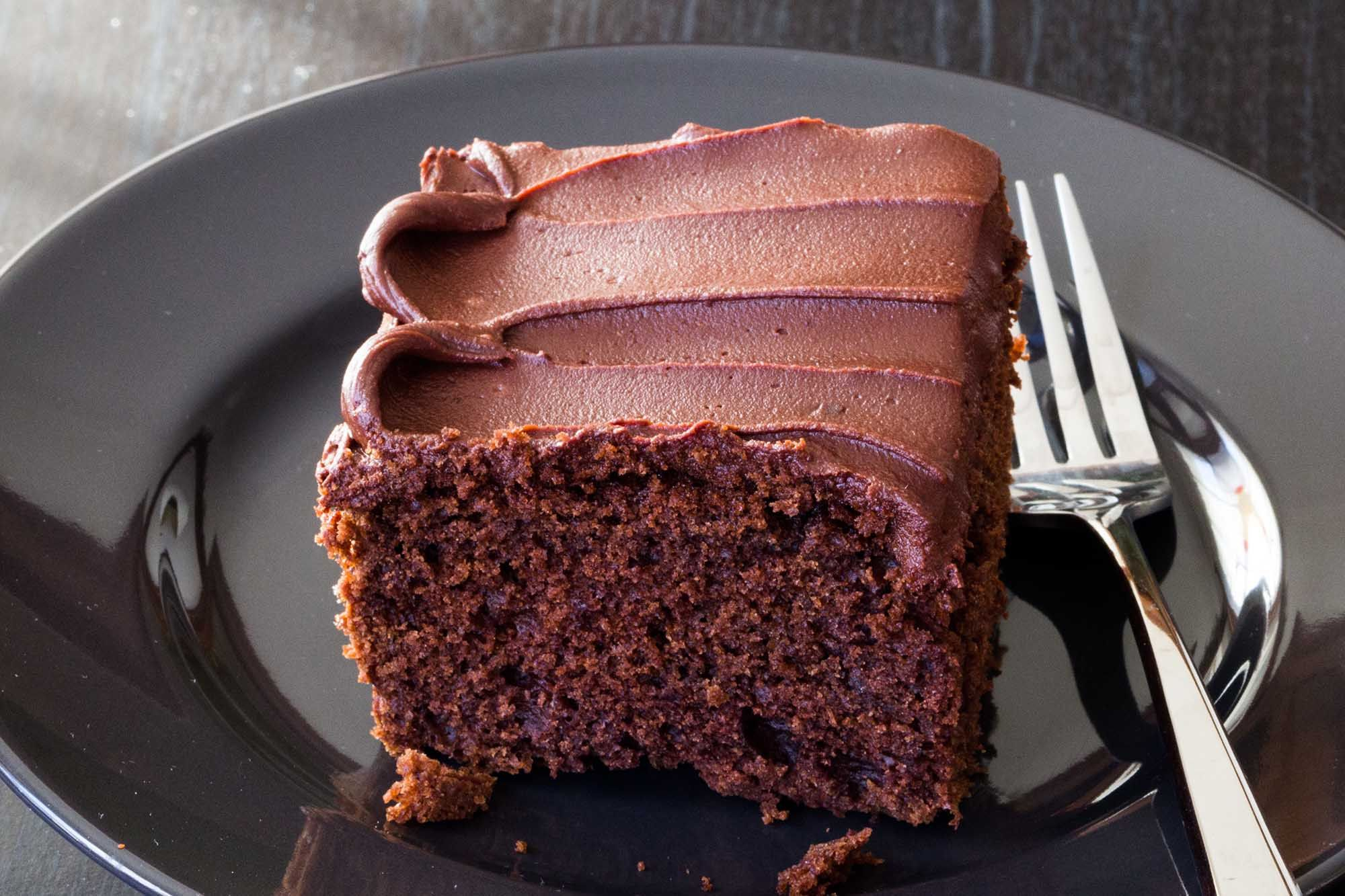 Sour Cream Chocolate Cake Recipe Sour Cream Chocolate Cake Sour Cream Cake Chocolate Frosting Recipes
