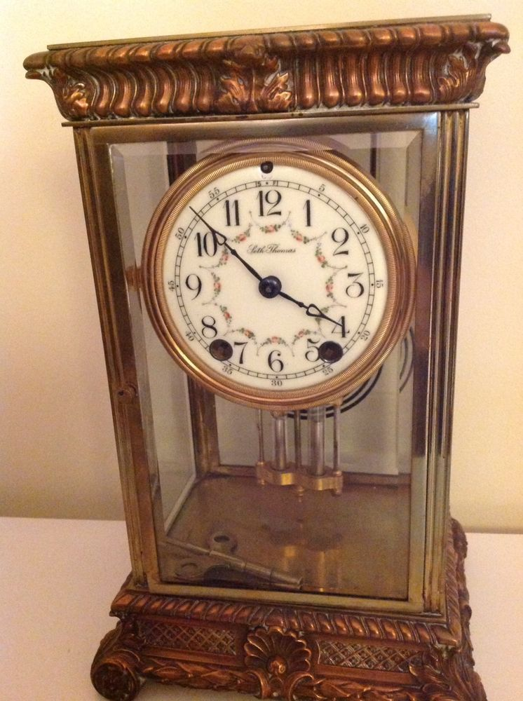 Seth Thomas Clock Co Empire No 13 Mantel Clock C 1909 Clock