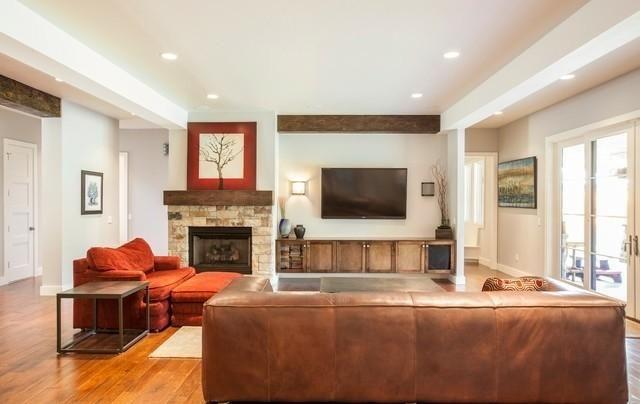 Tv Fireplace Side By Google
