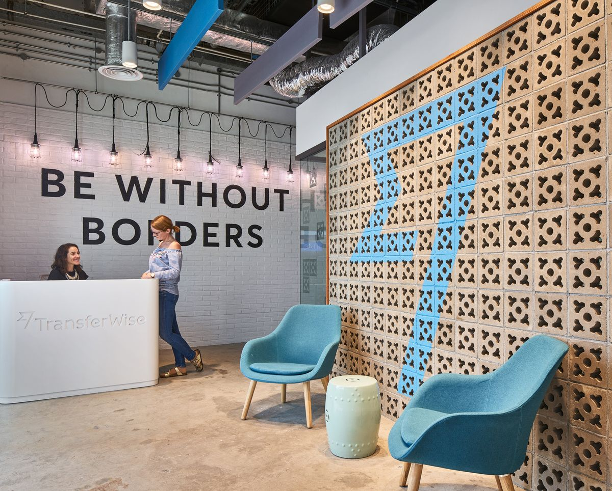 Office tour: transferwise offices u2013 singapore lobby & reception