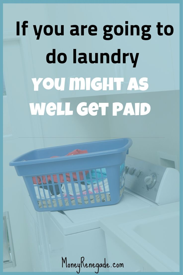 Make Money From Home Doing Laundry images