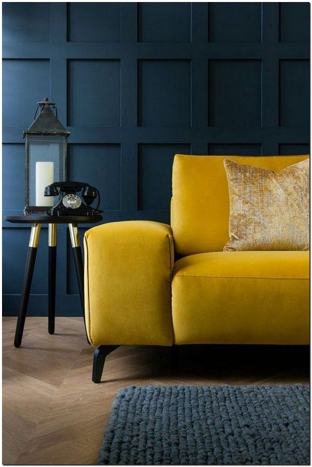 40 stunning yellow color ideas for your living room