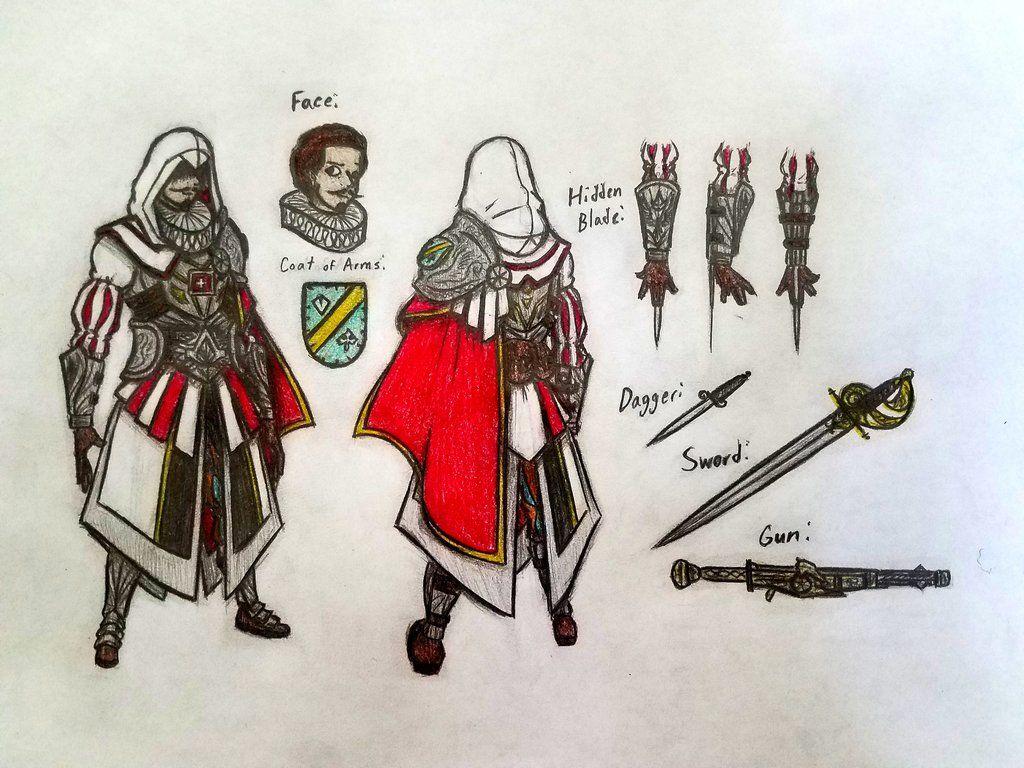 Arbogast Spaenhauer By Moderndavinci Assassins Creed Artwork Assassins Creed Art Assassin S Creed