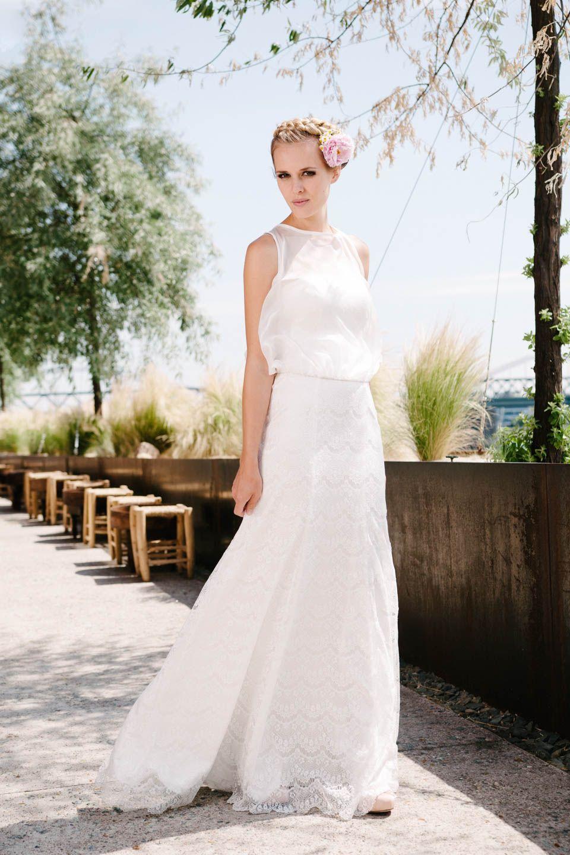 Hochzeitskleid A-Linie Spitze küssdiebraut Kate | Hochzeitskleider ...