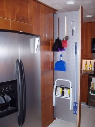 Pull Out Broom Closet Kitchens Forum Gardenweb Closet