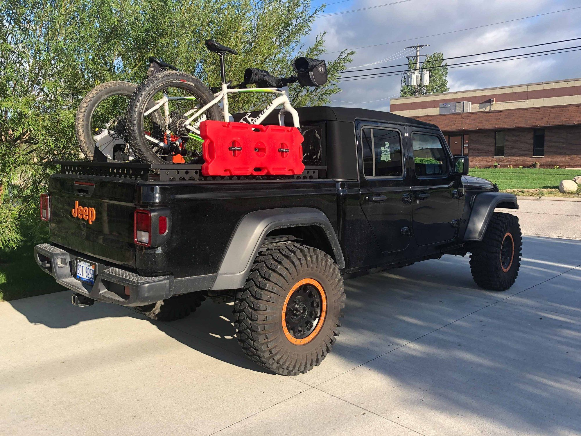 Panoramic Jeep Gladiator Sunroof Accessories Front Rear Jeep