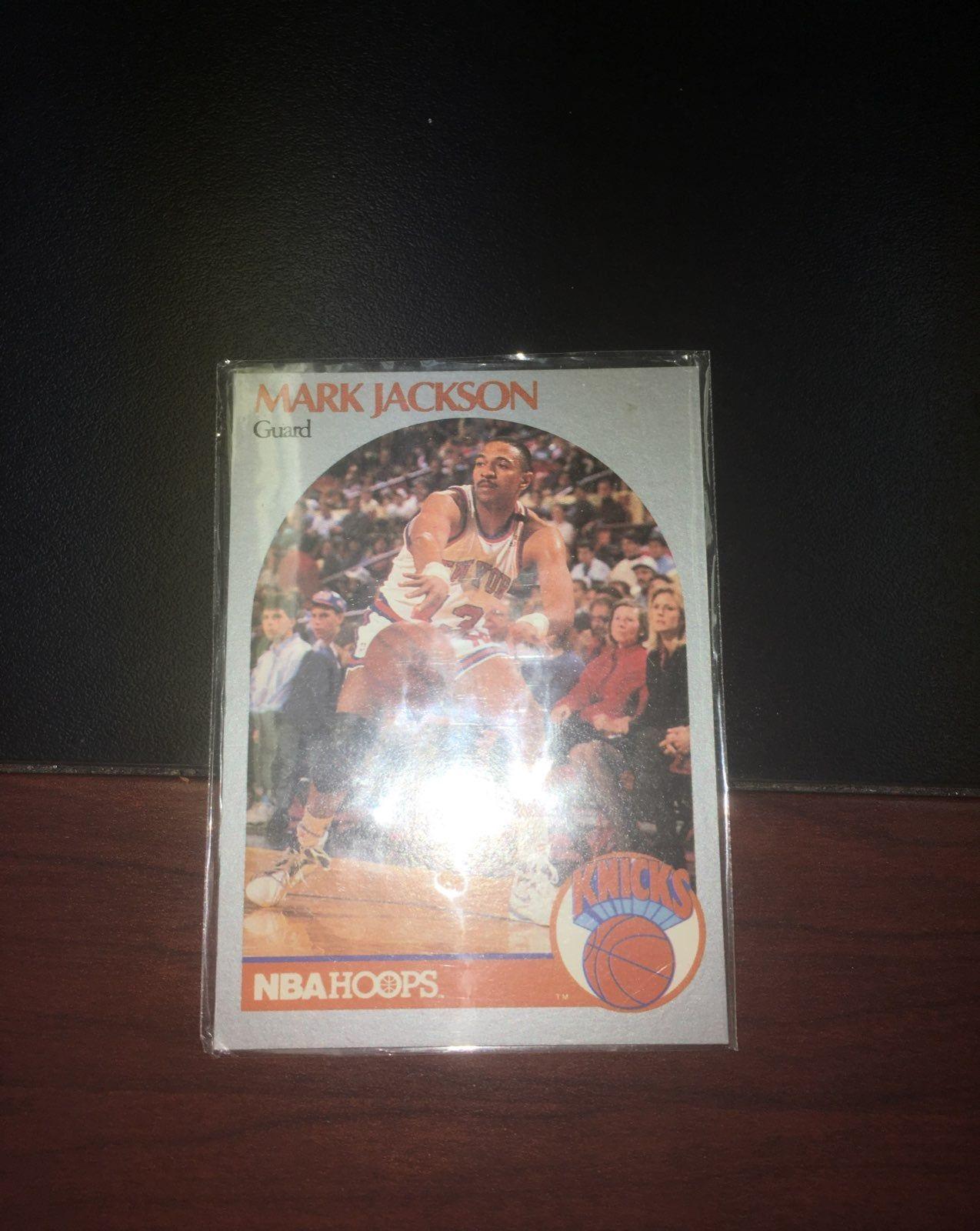 1990 nba hoops mark jackson card featuring the melendez