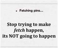 I think this every time I'm on the Pinterest app.