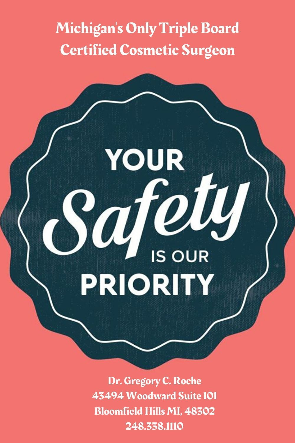 Our 1 priority is the health and safety of our patients