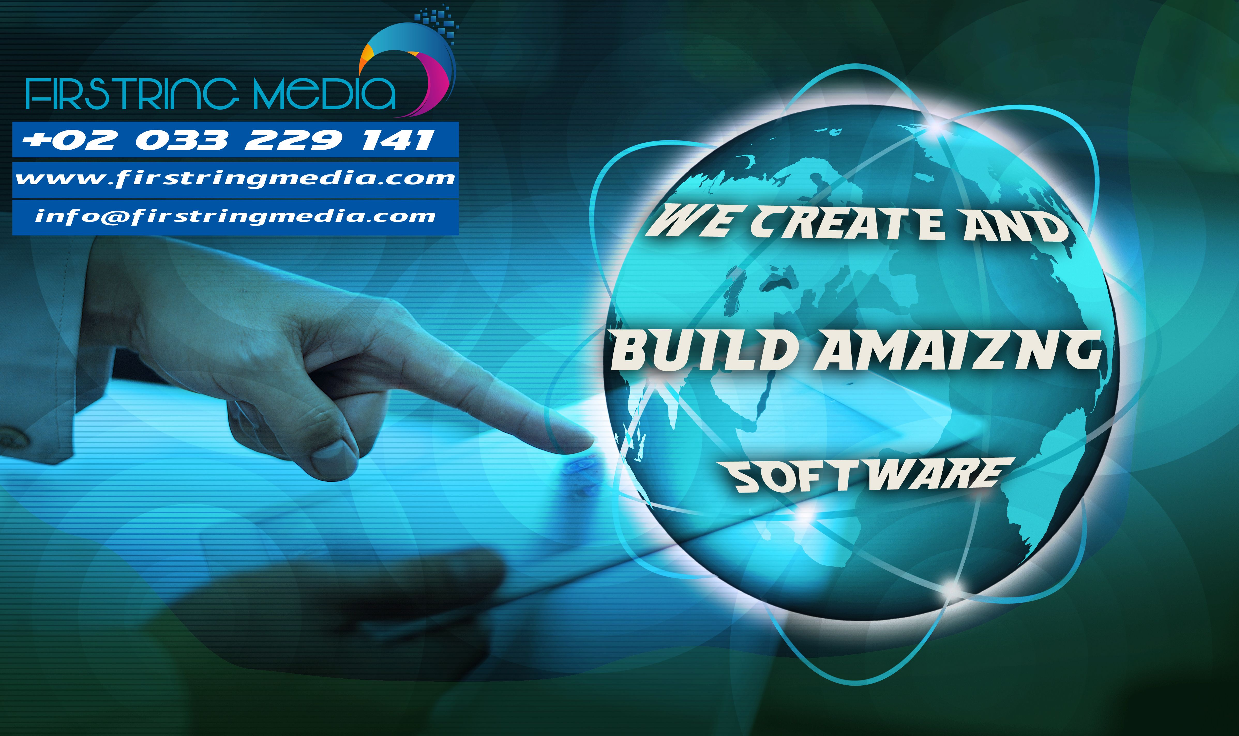 we create and build amazing software contact +02 033 229