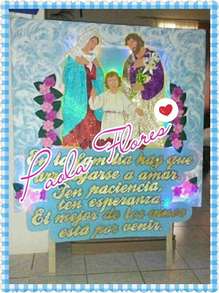 Pancarta religiosa 1,5 metros de alto Con luces #esmitrabajo