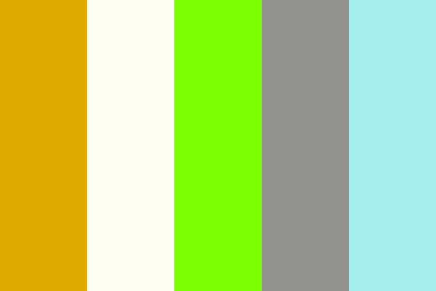 Crystal Zombie Space Dog Color Palette in 2020 | Color ...