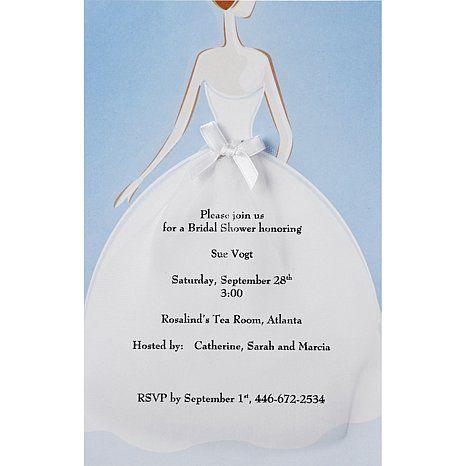 Shop wilton 12 pack invitation kit bride at hsn mobile showers shop wilton 12 pack invitation kit bride at hsn mobile filmwisefo