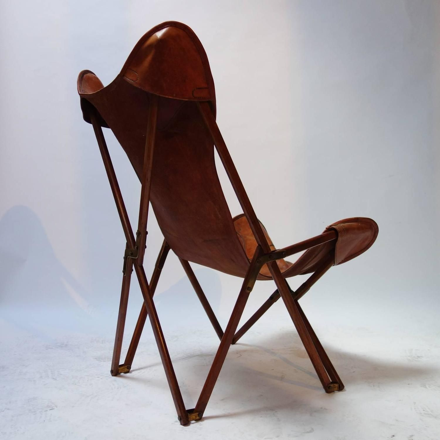 Fabulous Foldable Tripolina Leather Armchair By Joseph Beverly Fenby Evergreenethics Interior Chair Design Evergreenethicsorg