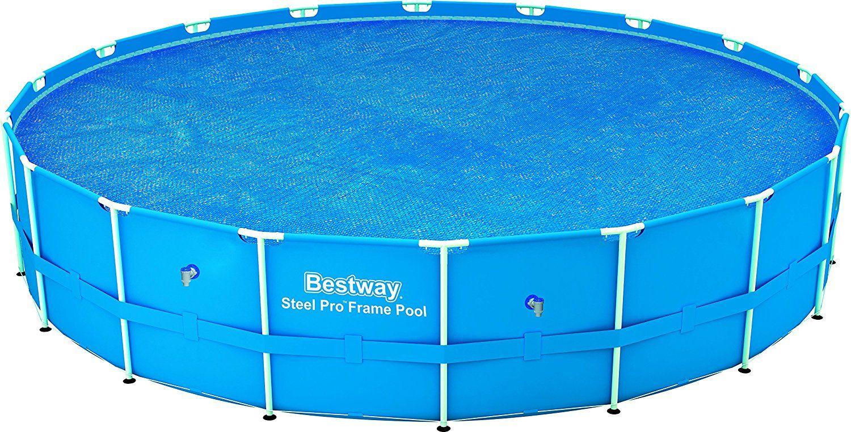 Bestway Steel Frame Solar Pool Cover   Garden Ideas   Pinterest ...