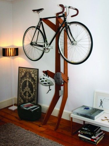 Branchline Is The Smart Wing Chun Wooden Dummy Of Bike Storage Solutions.  Its Adjustable Arms, Which Are Made Of Bamboo And Hand Finished In Leather  To ...
