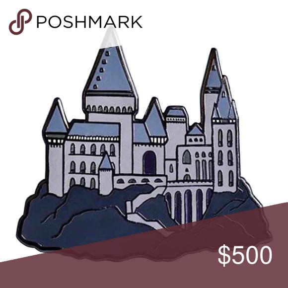 Harry Potter Hogwarts Castle Enamel Pin Hogwarts Hogwarts Castle Harry Potter Hogwarts Castle