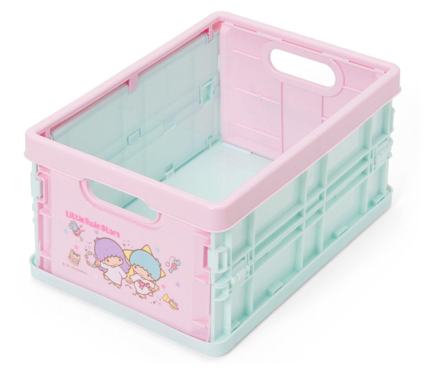 Small Little Twin Stars Storage Box Sanrio Storage Box Little Twin Stars Storage