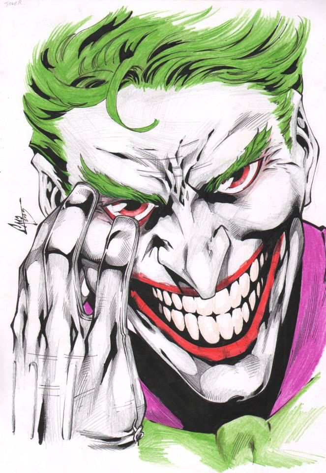 Joker by CaioMarcus-ART on @DeviantArt