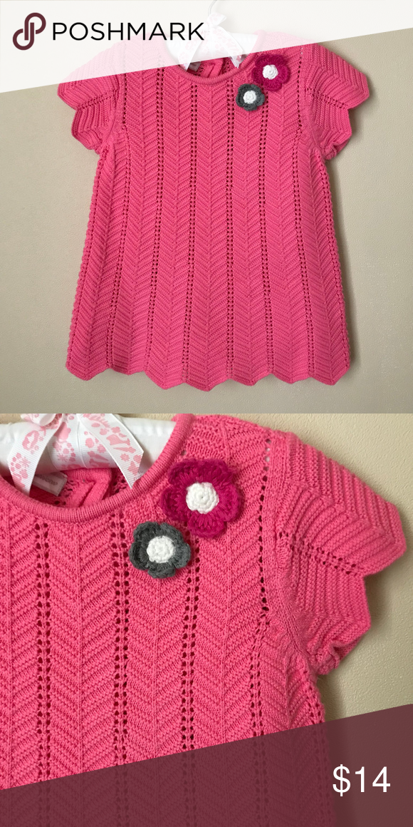2075c966b Pink Knit Dress 18 Months Baby Girl Clothes New without tags Size ...
