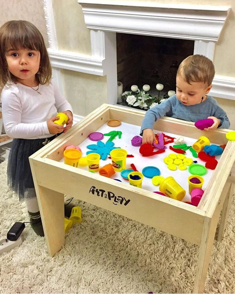 Play Doh Activities At Our Art Light Activity Table Sensory