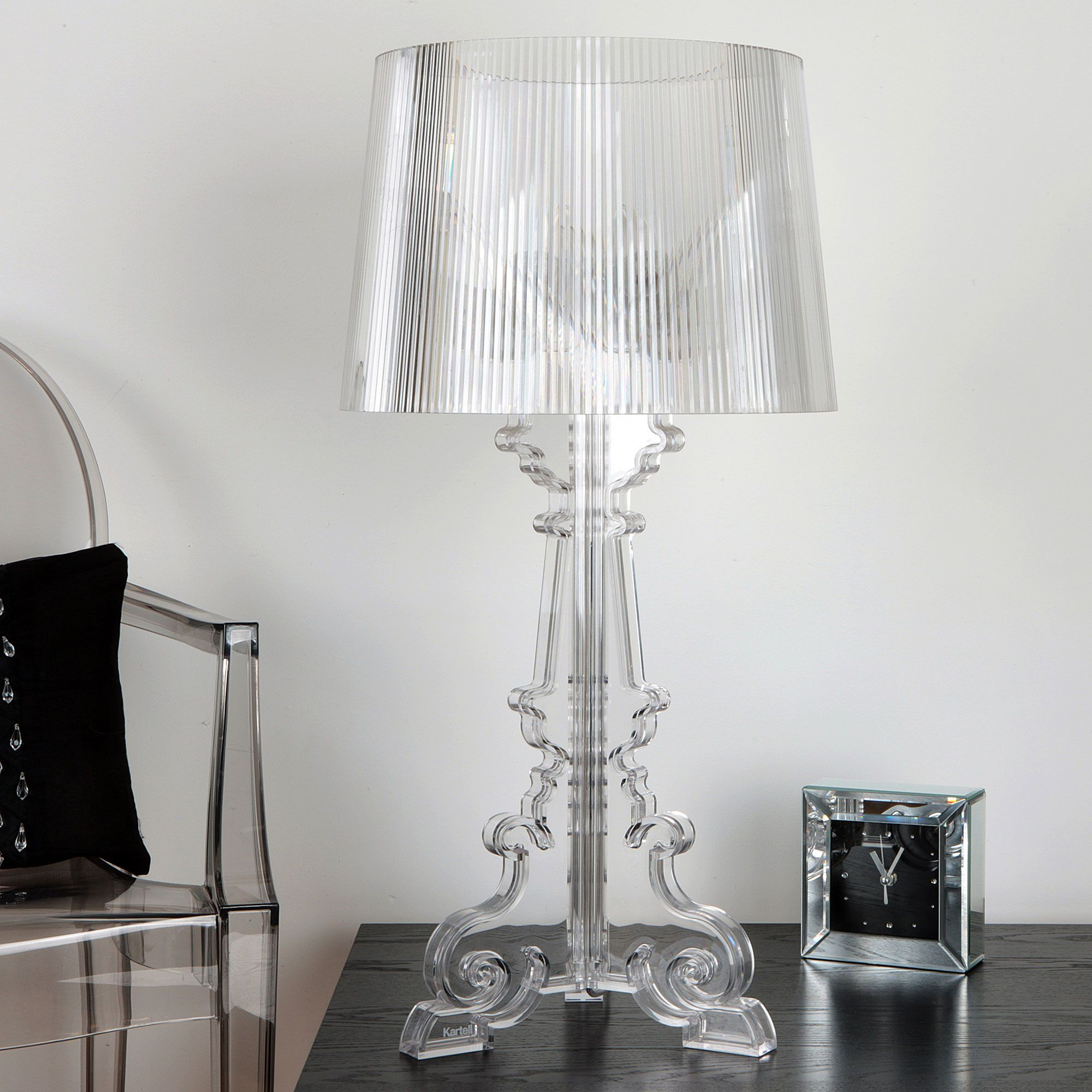bourgie table lamp kartell by ferruccio laviani 2004. Black Bedroom Furniture Sets. Home Design Ideas