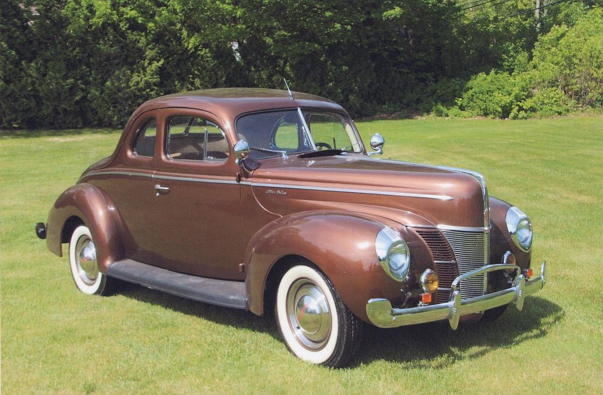1940 Ford Deluxe Coupe | Ford | Pinterest | Ford, Ford motor company ...