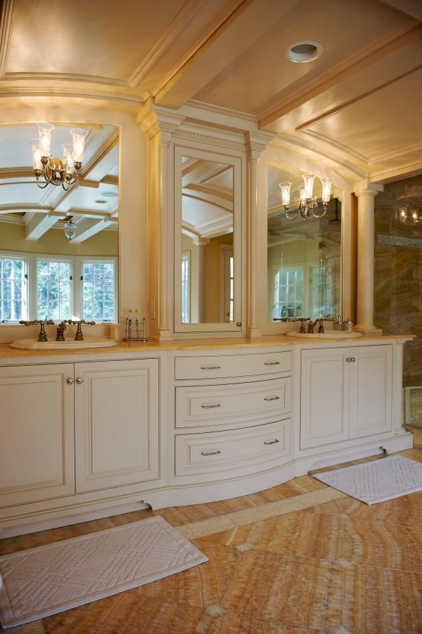 traditional master bathroom ideas. Looking For Bathroom Design Inspiration? Check Out This Lavish Traditional Master On HGTV.com. Ideas