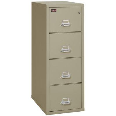 Fireking Fireproof 4 Drawer Vertical File Cabinet In 2020 Filing Cabinet Drawers Drawer Filing Cabinet