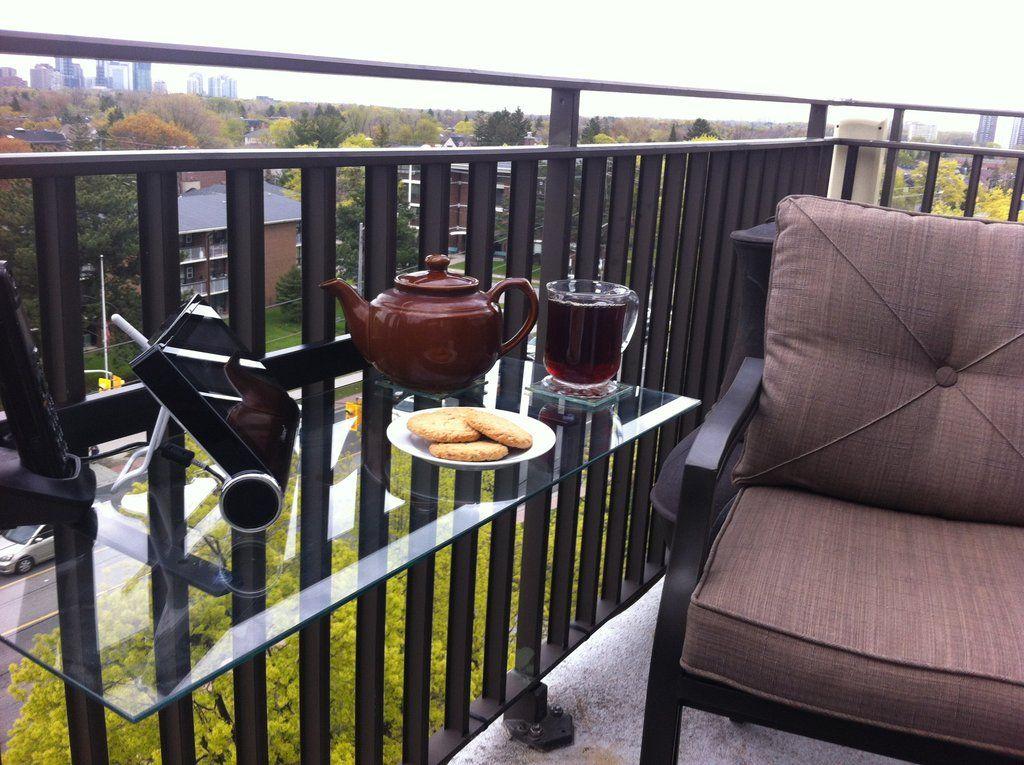 Balcony Railing Shelf Kit