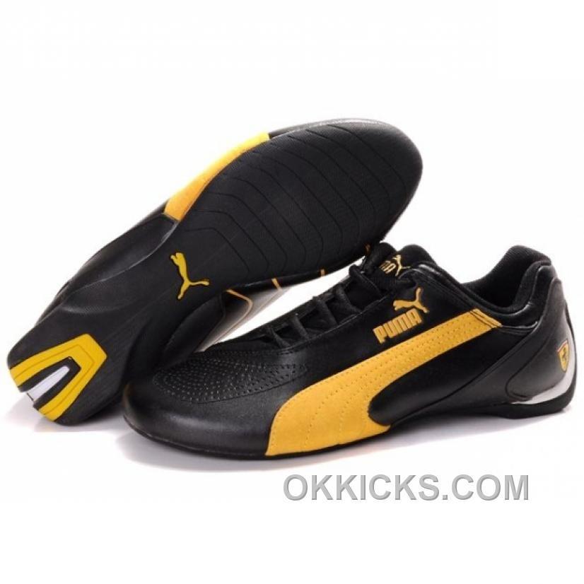 http://www.okkicks.com/puma-fluxion-ii-. FerrariPumasYellowShoes