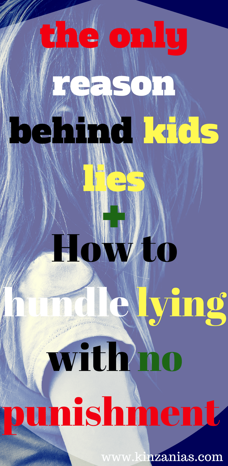 why kids lie for no reason