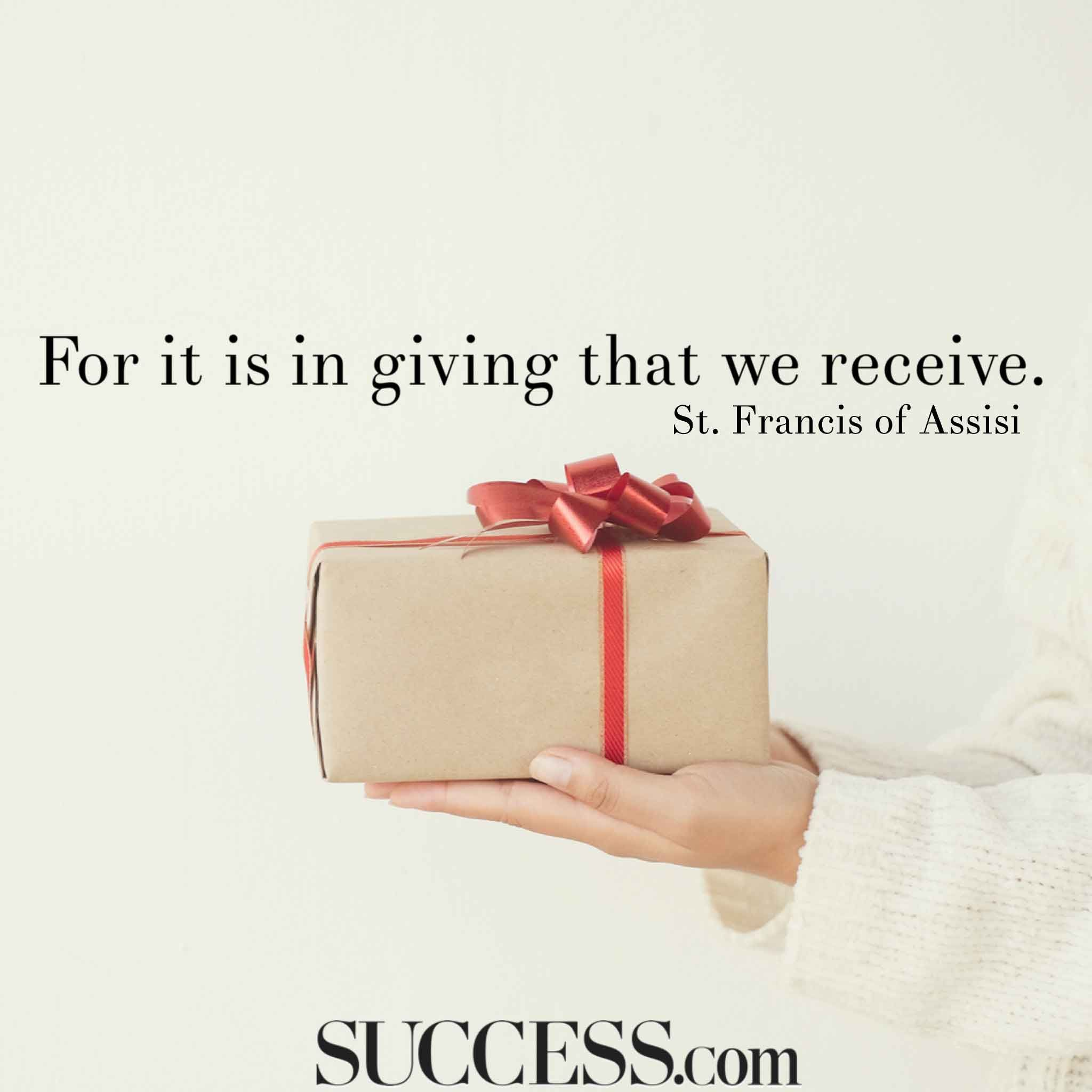15 Inspiring Quotes About Giving Success Giving Quotes Inspirational Quotes Shop Small Business Quotes