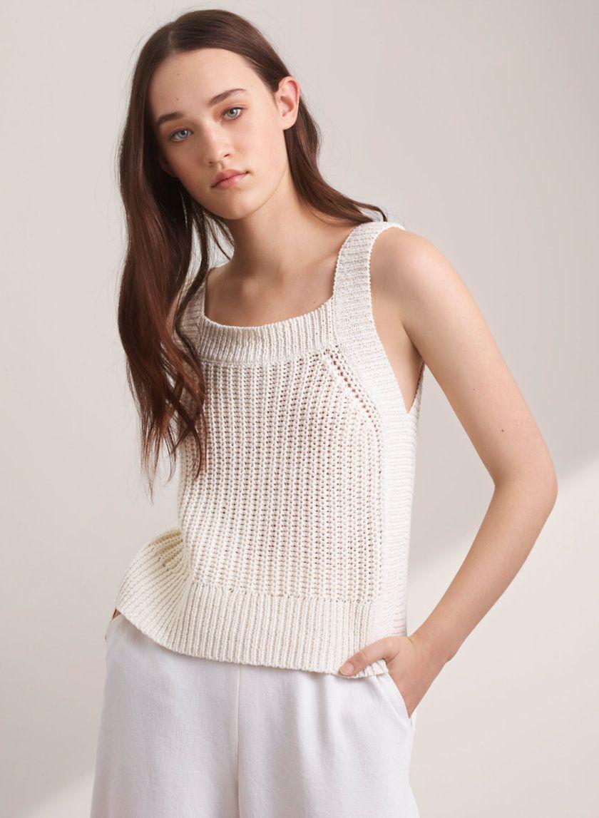 57e41d799de Wilfred CAUMONT KNIT TOP | Aritzia | 1 | spring // summer fashion ...