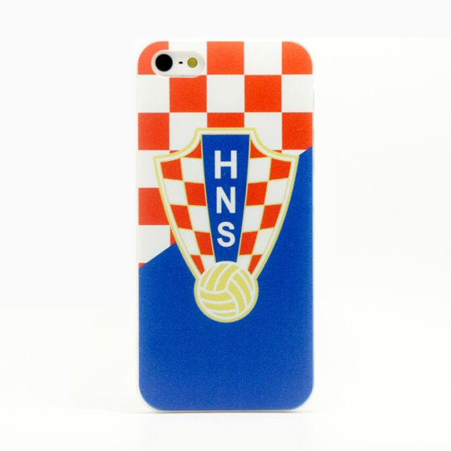for iPhone 4 / 4S hard case cover Brazil football painting - Cheering Up! Very Hot!