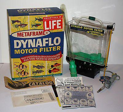 Metaframe DYNAFLO aquarium filter vintage 1960s for fish tank unused in box https://t.co/hn4Ggen2uJ https://t.co/goi3VmGUgi